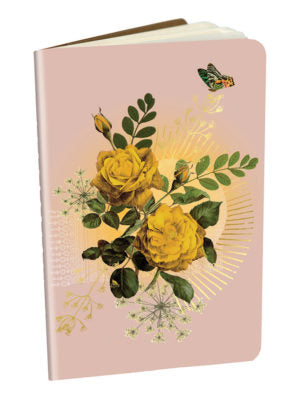 Yellow Roses Mini Notebook
