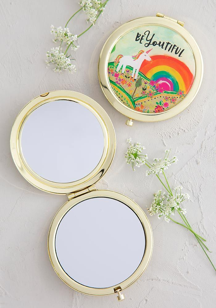 BeYOUtiful Unicorn Compact Mirror