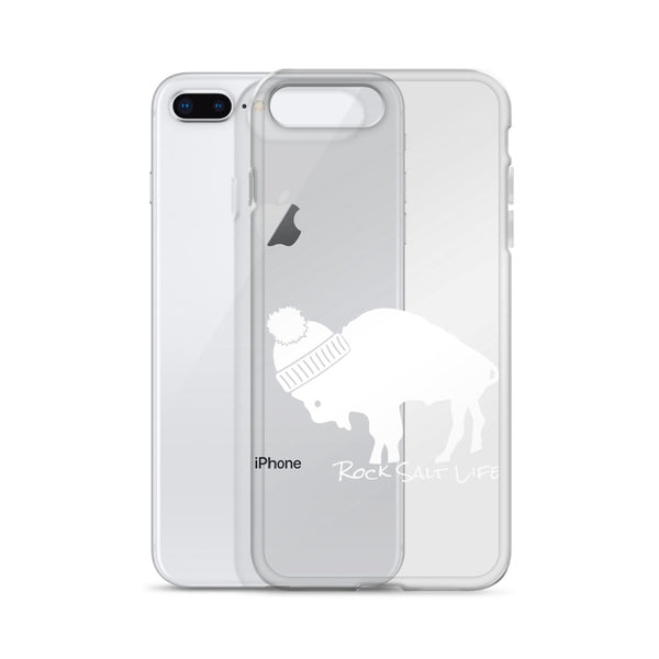 Rock Salt Life White Logo iPhone Case
