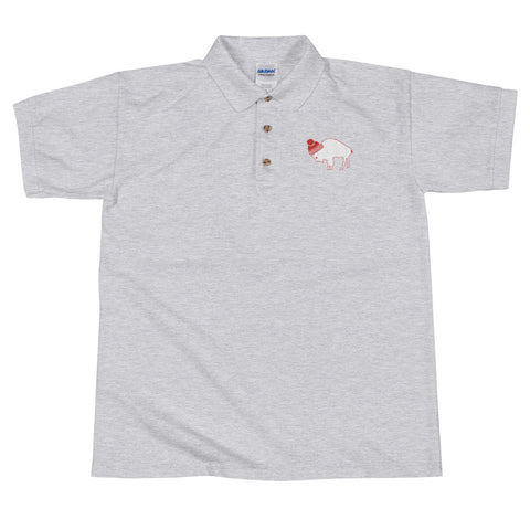 Rock Salt Life© Embroidered Polo Shirt