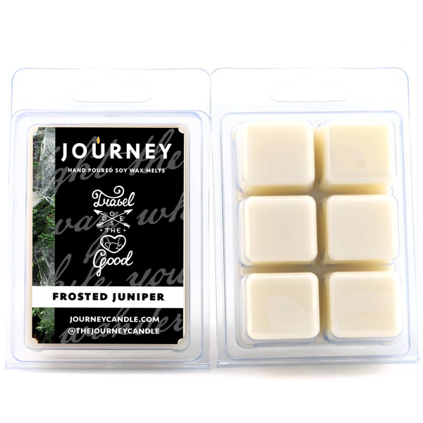 Frosted Juniper Journey Soy Wax Melts