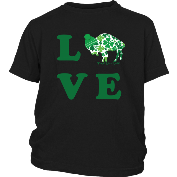 Lucky in BuffaLOVE Youth T-Shirts