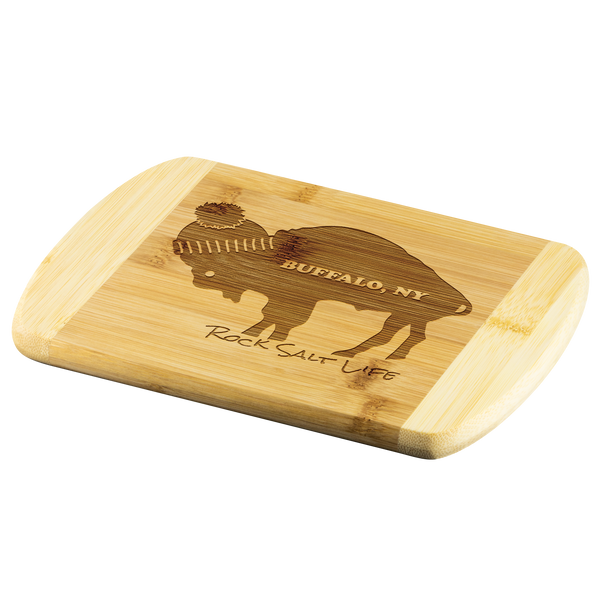 Buffalo New York Rock Salt Life Bamboo Cutting Board