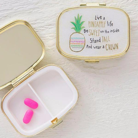 Pineapple Life Pill Box