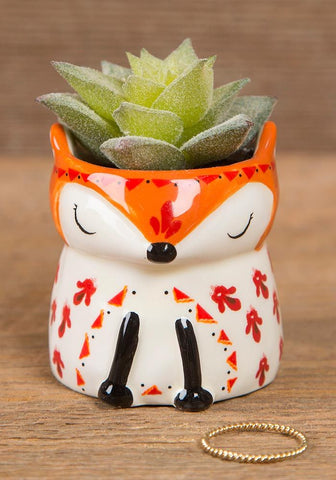 Fox Succulent Keepsake