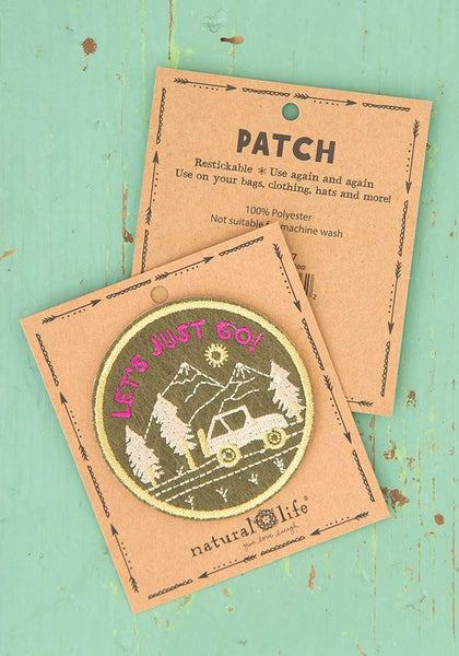 Re-Stickable Patches