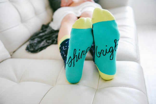 Shine Bright Women's Socks