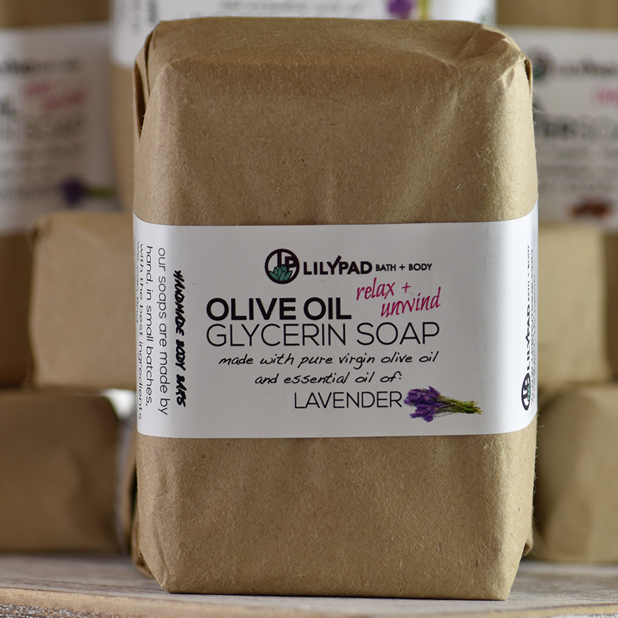 Relax and Unwind Lavender Olive Oil Soap