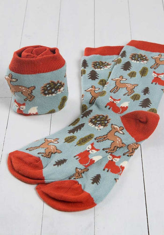 Forest Friends Hobby Socks