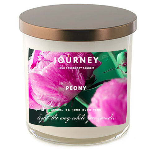 Peony Journey Soy Wax Candle