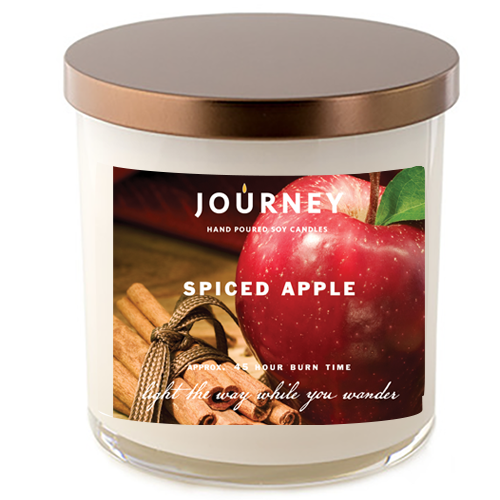 Journey Spiced Apple Soy Wax Candle