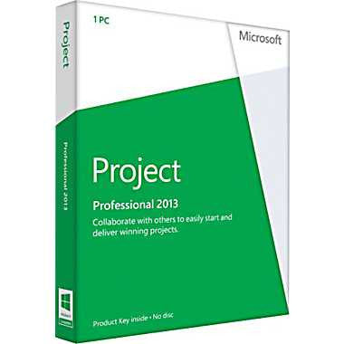 Microsoft Project Professional 2013 Retail Download