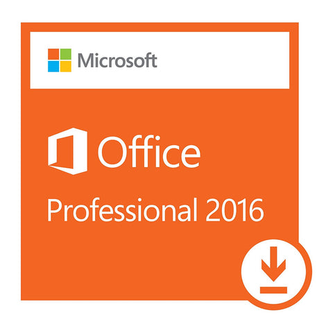 Microsoft Office Professional 2016 Retail Download