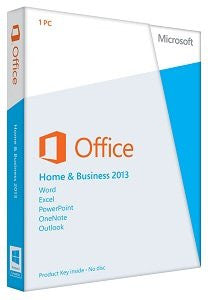 Microsoft Office Home & Business 2013 Retail Download