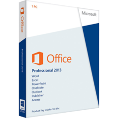 Microsoft Office Professional  2013 Retail Download