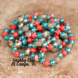 "60"" Crystal Necklace - Southwest Mix Shabby Chic Boutique and Tanning Salon"