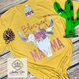 Blessed MaMa - CowSkull Shabby Chic Boutique and Tanning Salon