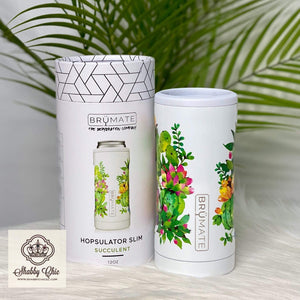 Brumate HOPSULATOR SLIM | SUCCULENT (12OZ SLIM CANS) Shabby Chic Boutique and Tanning Salon