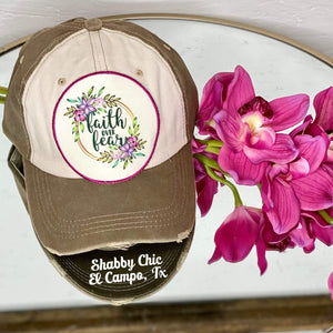 Faith over Fear Cap Shabby Chic Boutique and Tanning Salon