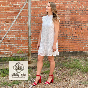 Lilly White Dress Shabby Chic Boutique and Tanning Salon