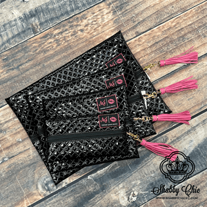 Make Up Junkie Bag - Black Diamond Shabby Chic Boutique and Tanning Salon