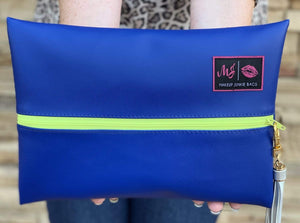 Make Up Junkie Bag - Electric Blue Shabby Chic Boutique and Tanning Salon