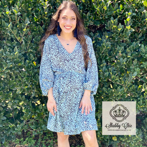 Mint Cheetah Dress Shabby Chic Boutique and Tanning Salon