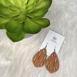 New Mexico Earrings Shabby Chic Boutique and Tanning Salon