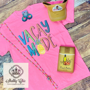 Vacay Mode Tee Shabby Chic Boutique and Tanning Salon