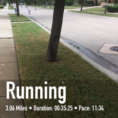 Friday's Run