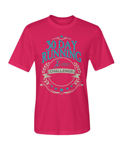 30 Day Running Challenge Dry Sport Short Sleeve