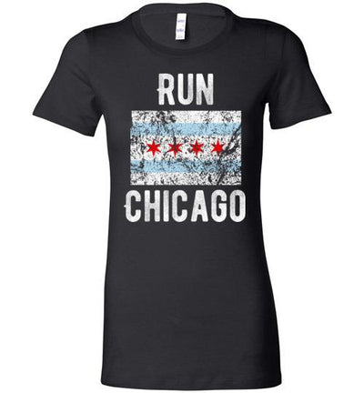 Run Chicago Ladies T-Shirt