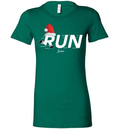 Christmas Run Ladies T-Shirt