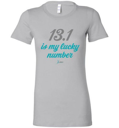 13.1 Is My Lucky Number Ladies T-Shirt