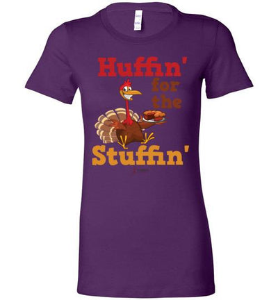 Huffin' for the Stuffin' Ladies T-Shirt