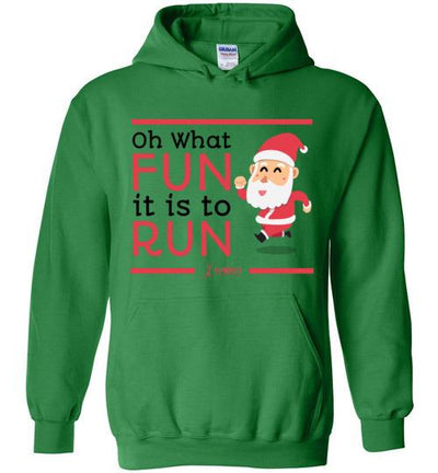 Oh What Fun it is to Run Hoodie