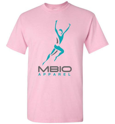 Mbio Apparel Logo T-Shirt T-Shirt Mbio Apparel Gildan Light Pink S