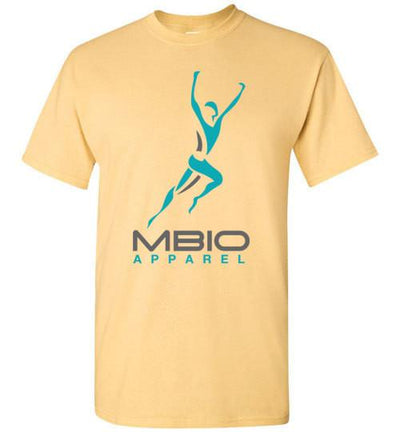 Mbio Apparel Logo T-Shirt T-Shirt Mbio Apparel Gildan Yellow Haze S