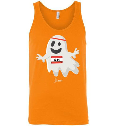 Happy Ghost Runner Halloween Tank Top