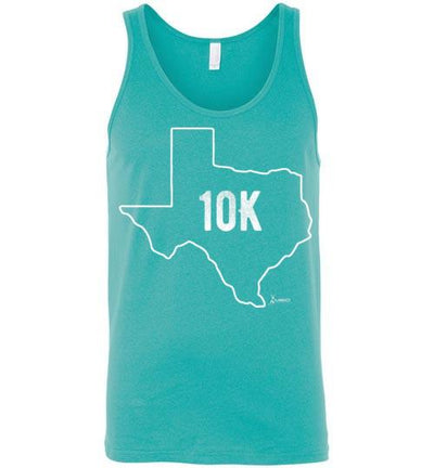 Texas Outline 10K Tank Top