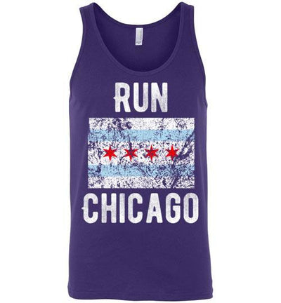 Run Chicago Tank Top