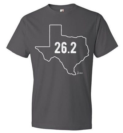 Texas Outline Marathon T-Shirt