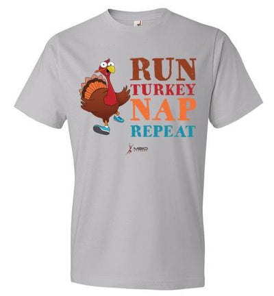 Run Turkey Nap Repeat T-Shirt