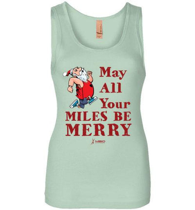 May All Your Miles Be Merry Women's Jersey Tank