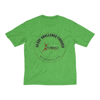 30 Day Challenge Finisher Men's Short Sleeve Tech Shirt T-Shirt Printify Sport-Tek Turf Green Heather XS