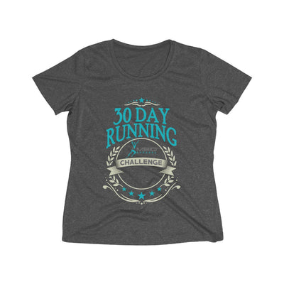 30 Day Running Challenge Women's Short Sleeve Tech Shirt