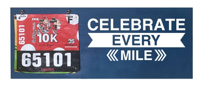 Celebrate Every Mile - Running Medal Display Running Medal Hanger Mbio Apparel