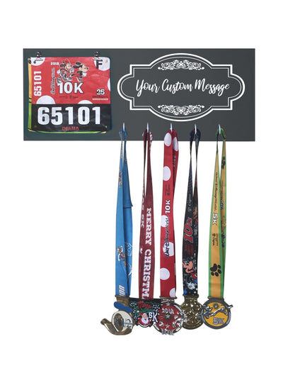 Custom Running Medal Display