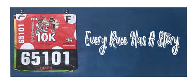 Every Race has a Story - Running Medal Display Running Medal Hanger Mbio Apparel