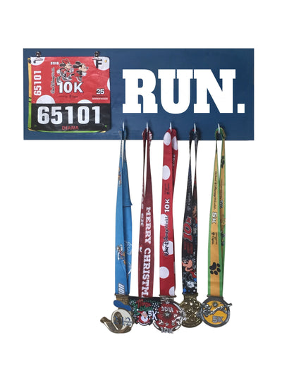 Run - Running Medal Display Running Medal Hanger Mbio Apparel Oceanside